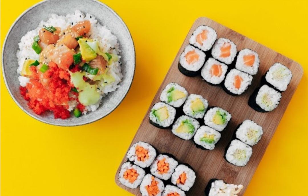 (Lokal Düsseldorf) -50% auf Sushi-Sets & Poke-Bowls im 7days Sushi