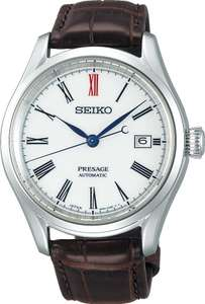 Seiko Presage Automatikuhr SPB095J1 Herren Dresser - Ziffernblatt aus Arita Porzellan - Kal. 6R35 - 40,5 mm