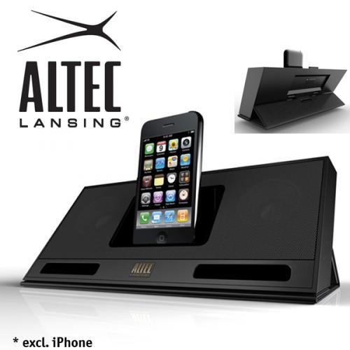 Altec Lansing IMT320 inMotion Compact Lautsprechersystem (Dockingstation) für iPhone und iPod @ iBood