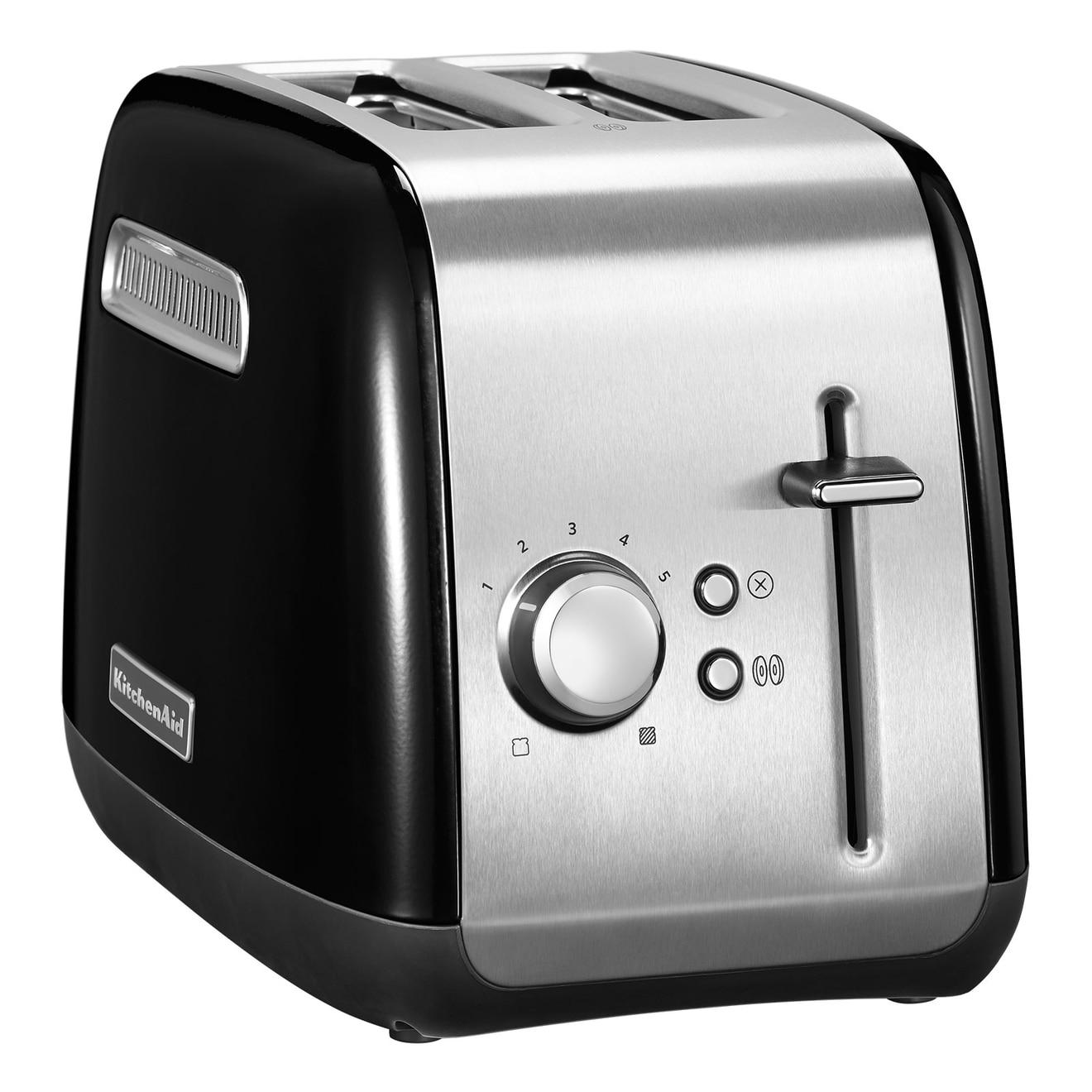 KitchenAid Toaster 5KMT2115EOB mit Bagel Funktion Onyx Schwarz für 44€ inkl. Versandkosten