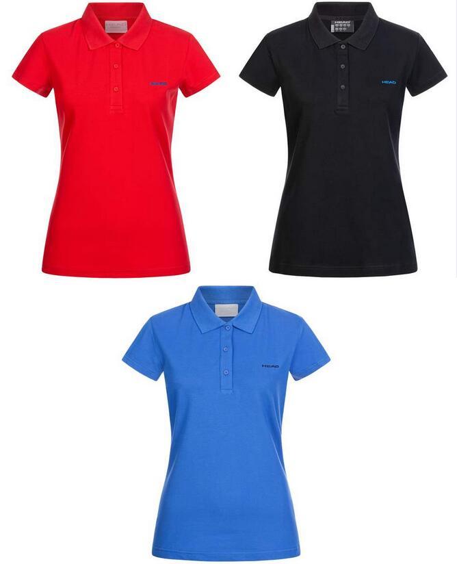 HEAD Damen Polo-Shirt Mary (3 Farben verfügbar, 95% Baumwolle, 5% Elasthan, Größe XS - XXXL) [SportSpar]