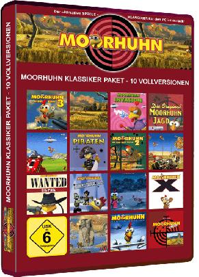 Moorhuhn 10 in 1 Bundle (Download)