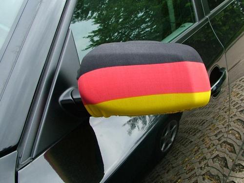 """[Saturn Lünen] Autospiegelfahnen """"Deutschland"""" 2erset und Autofahne je 10 Cent"""