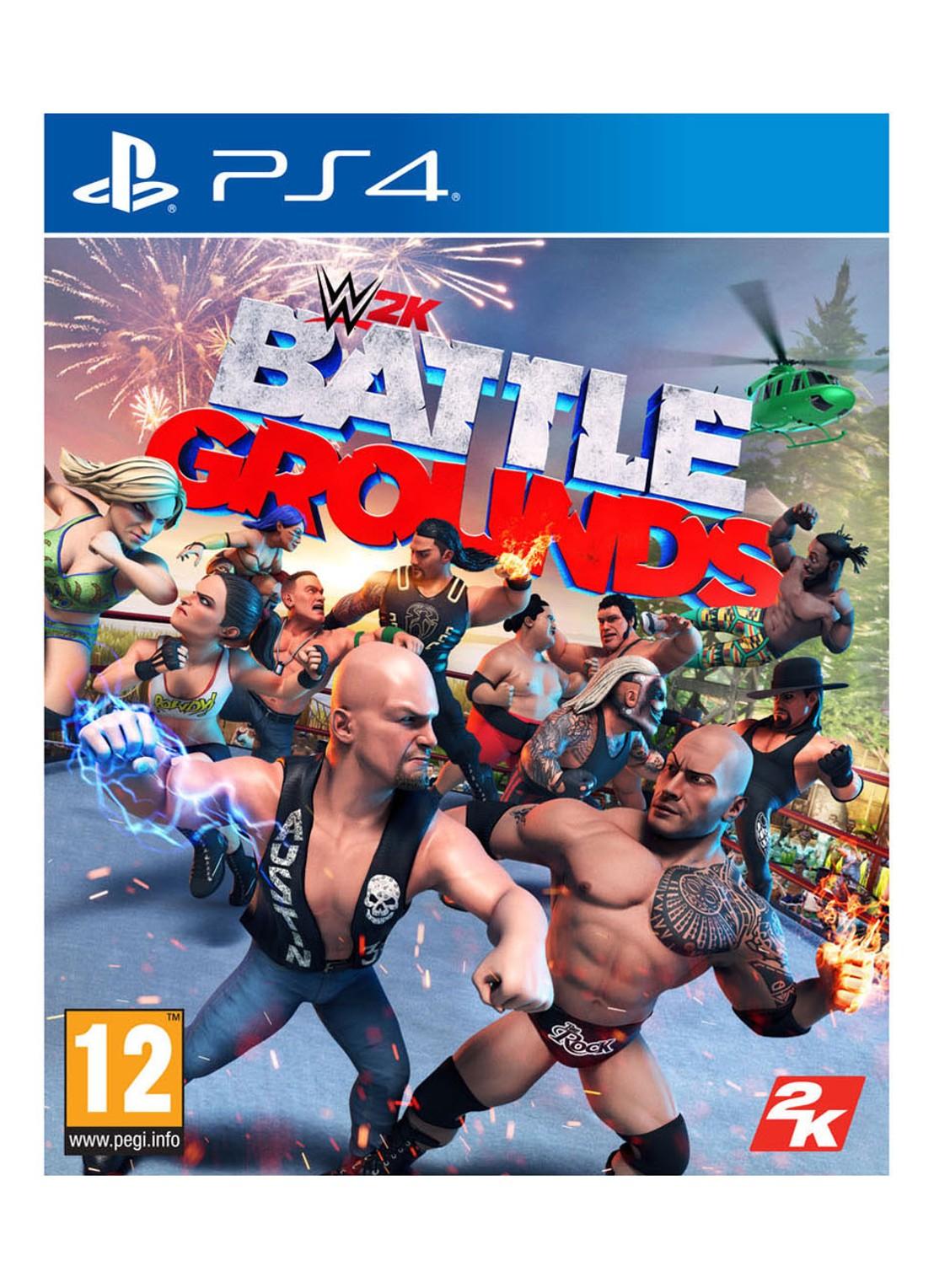 WWE 2K Battlegrounds Playstation 4 (Ps4)