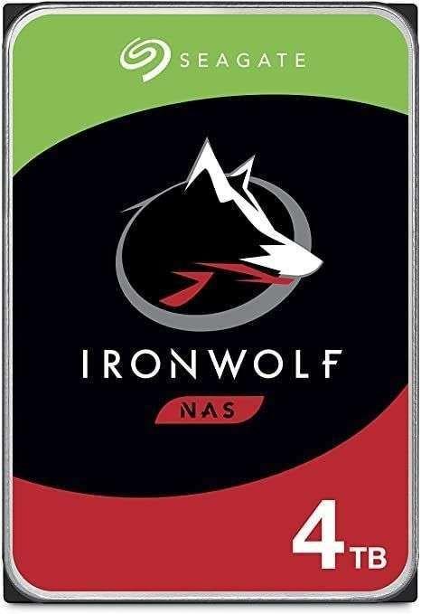 """Seagate Ironwolf 4TB 3,5"""" NAS HDD (CMR, 64MB, 5900rpm, 3 Jahre Garantie) [Media-Saturn]"""