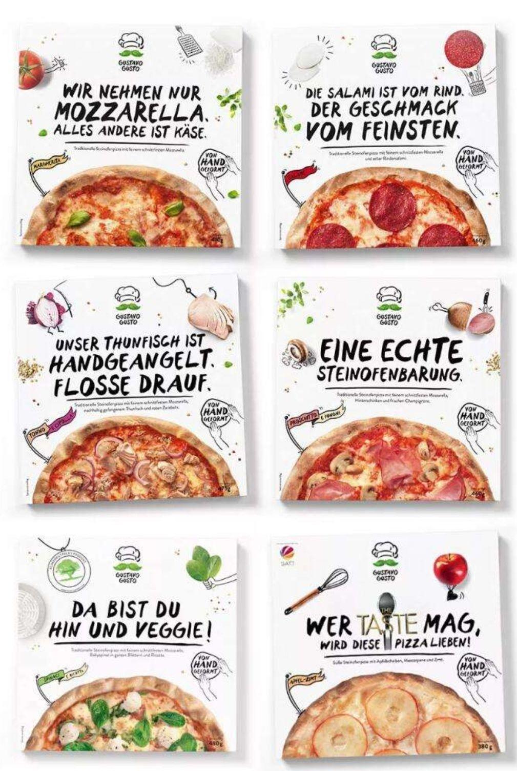 [Marktkauf Minden-Hannover] Gustavo Gusto Pizza verschiedene Sorten mit Marktguru Cashback für effektiv 2,49€