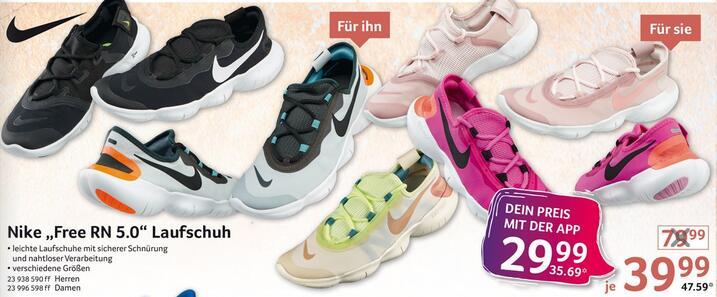 [selgros] [App] Nike Free RN 5.0