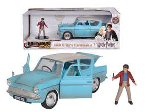 [ Amazon / Prime ] Harry Potter - 1959 Ford Anglia / 1:24 / Metall & stabil / inkl. Harry Figur