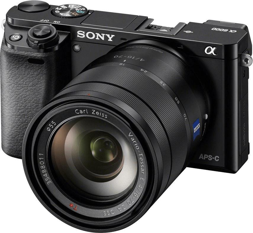 Sony Alpha 6000 Systemkamera inkl. Zeiss 16–70F4 Objektiv | Mediamarkt ES