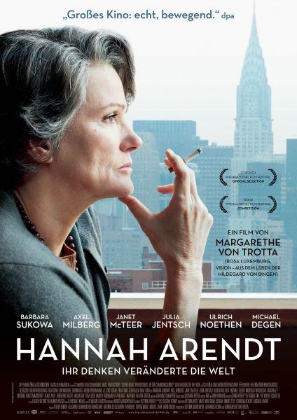 «Hannah Arendt» (IMDb 7,1 – RT 88%) kostenlos im Stream [ARD Mediathek]