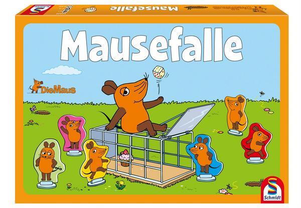 [Thalia APP] Kinderspiel/Gesellschaftsspiel/Familienspiel Die Mausefalle (Die Sendung mit der Maus), 2-6 Spieler ab 4 Jahren [PAYBACK]