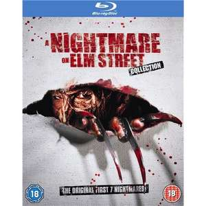 Blu-Ray Box - Nightmare On Elm Street 1-7 (5 Discs) für €21,24 [@WowHD.de]