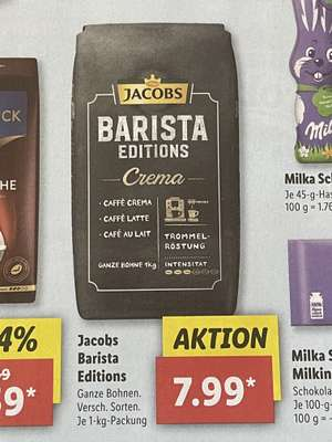 Jacobs Barista Editions [Lidl]