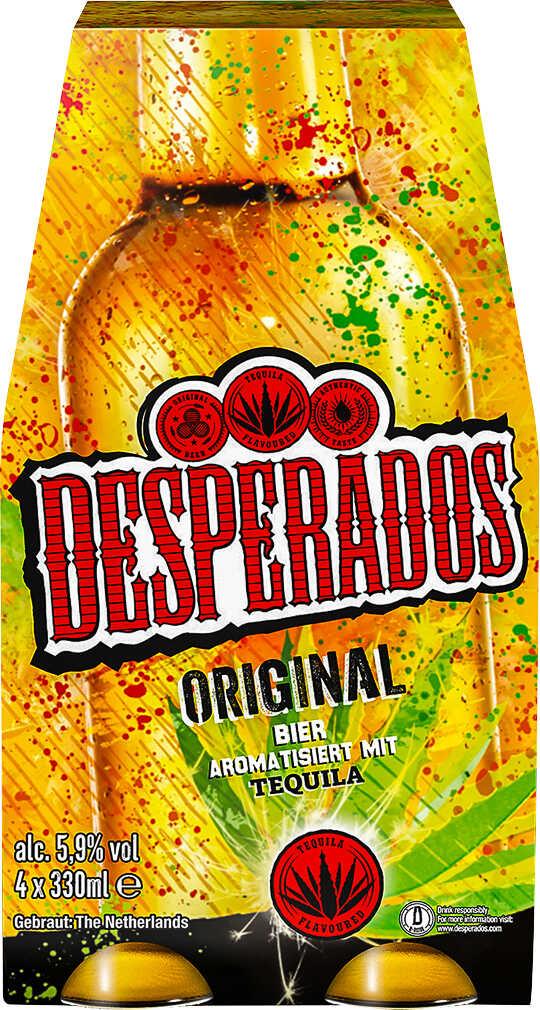 DESPERADOS 4er-Pack