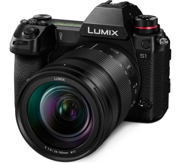 Panasonic Lumix S1 Systemkamera inkl. S 24-105F4 Objektiv | Mediamarkt ES