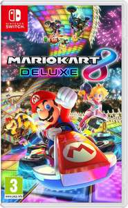 Mario Kart 8 Deluxe FR version Nintendo switch [Amazon]