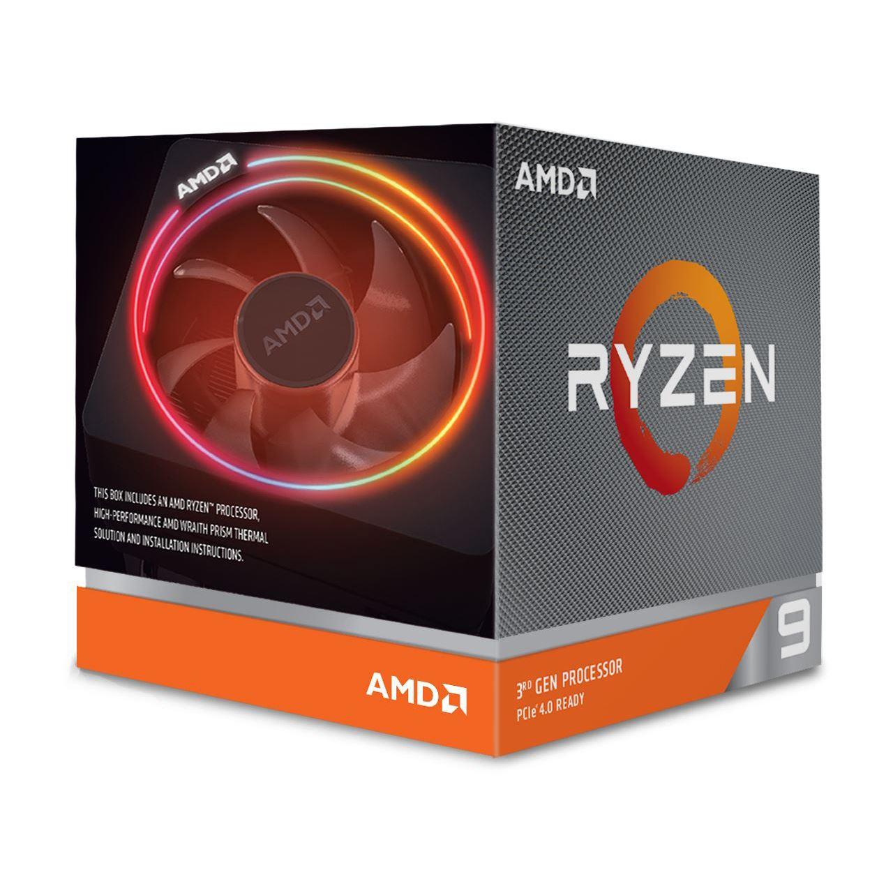 [MINDFACTORY] AMD Ryzen 9 3900X, 12C/24T, 3.80-4.60GHz, boxed (ab 0:00 Uhr Versandkostenfrei)