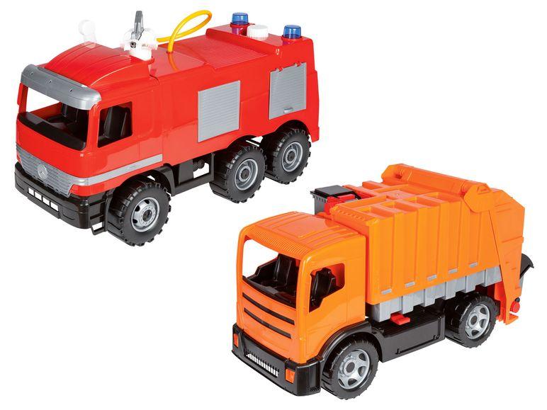 Lidl Filiale: Lena Giga Truck Müllwagen oder Feuerwehr. Belastbar bis 25 kg...