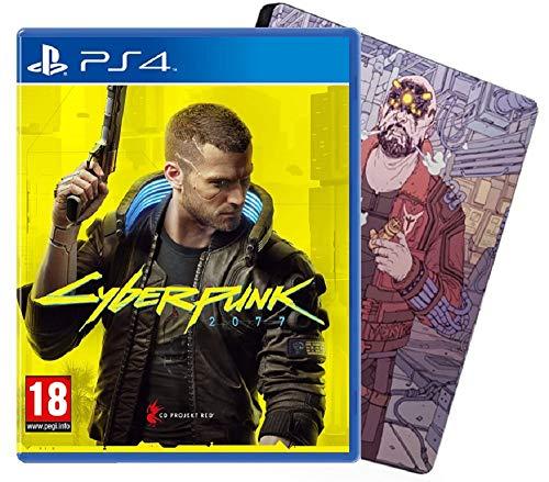 Cyberpunk 2077 Day One Edition mit Steelbook (PS4) für 37,38€ inkl. Versand (Amazon UK)