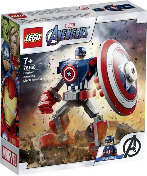 [ThaliaKult] LEGO® Marvel Avengers 76168 - Captain America Thor Mech + 60 Paypack Punkte