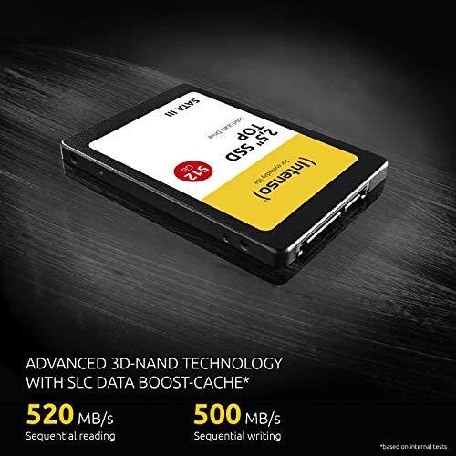 Intenso interne SSD-Festplatte 256GB Top Performance (Amazon Prime kostenloser Versand)