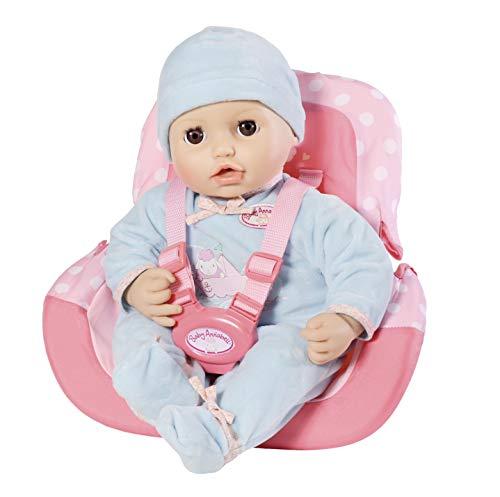 Zapf Creation 701140 Baby Annabell Travel Autositz, rosa [Amazon Prime]