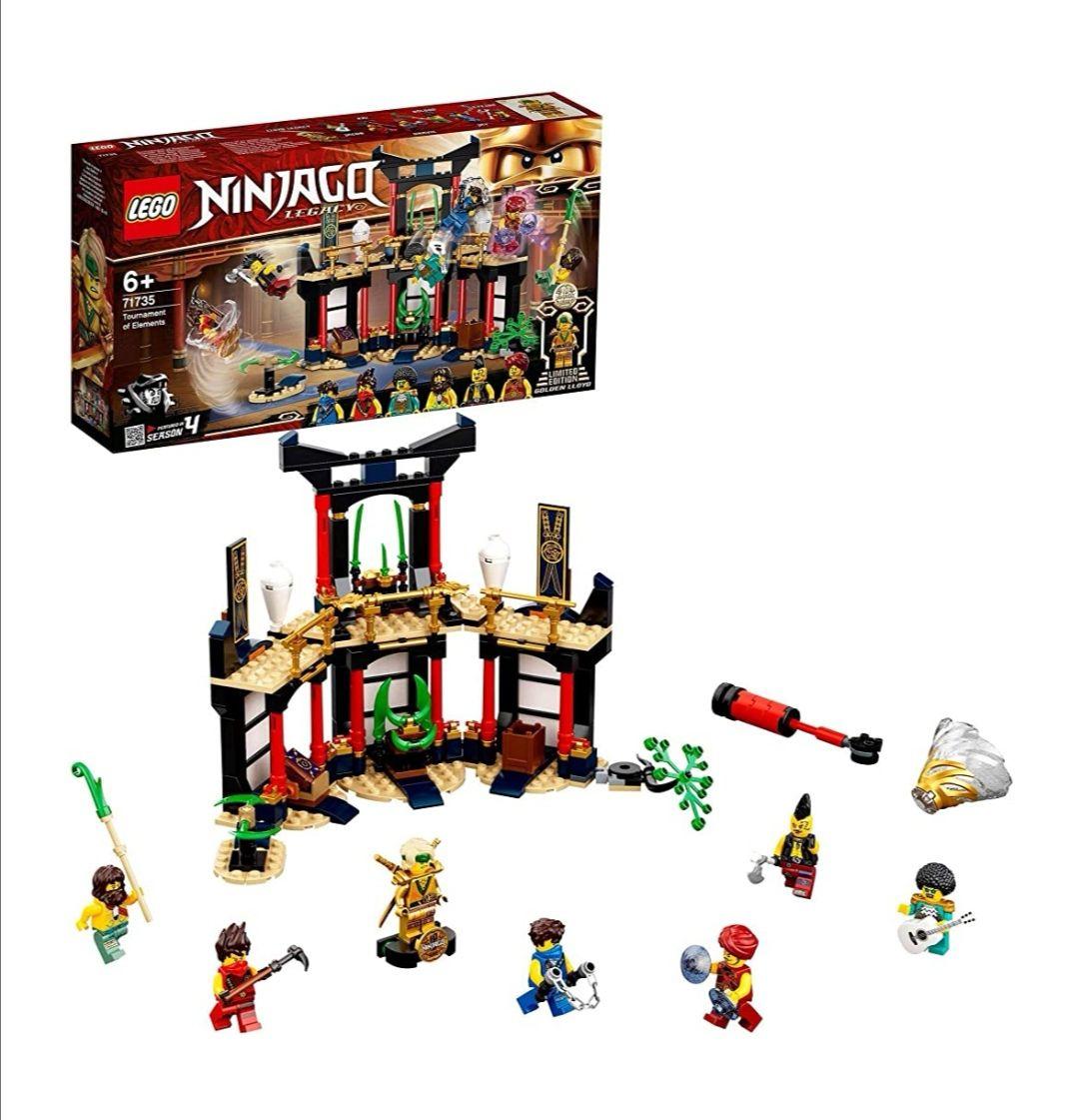 Lego 71735 Ninjago Turnier der Elemente Tempel
