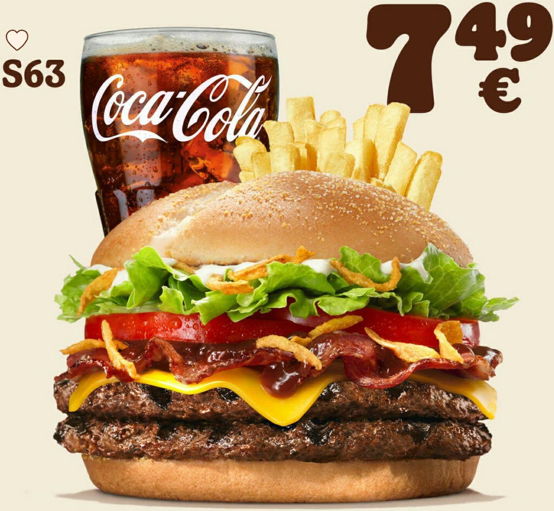 MAHLZEIT: Double Steakhouse + mittlere Pommes + mittleres Getränk für 7,49€ [Burger King]