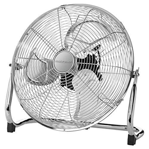 (@amzon prime) ProfiCare PC-VL 3066 WM Metall Windmaschine Ventilator Inox ca. 45 cm & 100 Watt