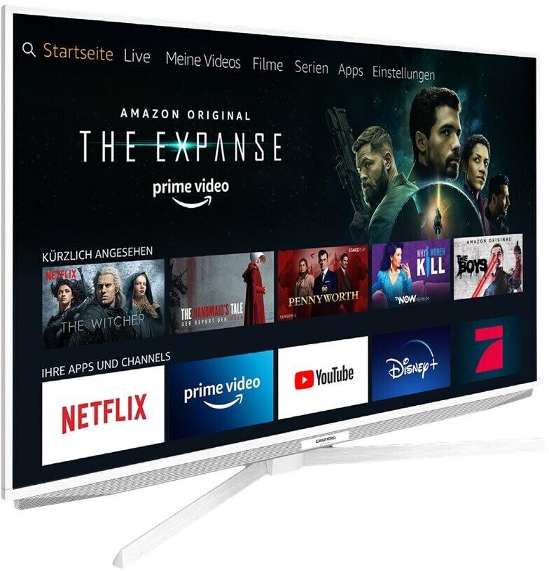 GRUNDIG 55 GUW 7040 FIRE TV EDITION LED TV (Flat, 55 Zoll / 139 cm, HDR 4K, SMART TV, Fire TV Experience) [Mediamarkt]