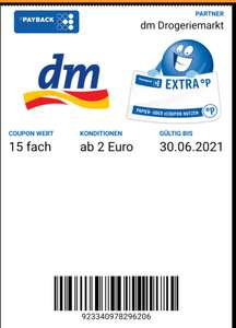 15 fach Payback Coupon bei DM / personalisiert?