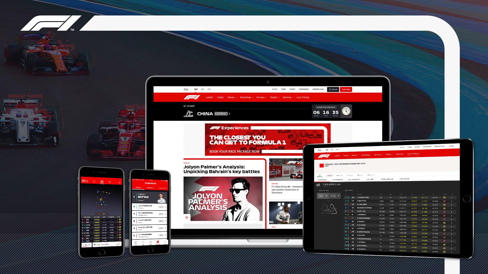F1 TV Access 25 % Rabatt auf Jahresabo