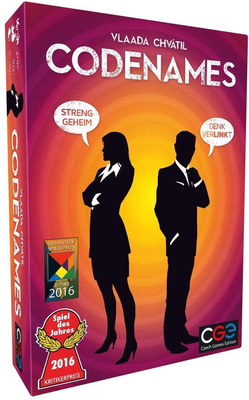 [Prime] Czech Games Edition CZ066 Asmodee Codenames - Spiel des Jahres 2016, Familienspiel, Deutsch