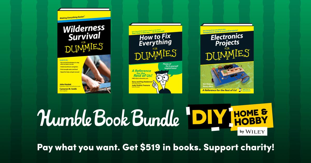 Humble Books Bundle: Dinge zum selber machen für Dummies, z.B. Ziegen züchten