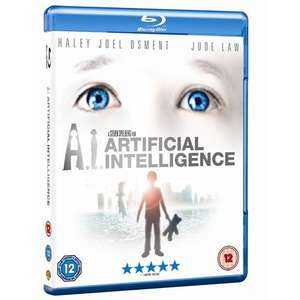 Blu-Ray - A.I. Artificial Intelligence für €7,99 [@Play.com]