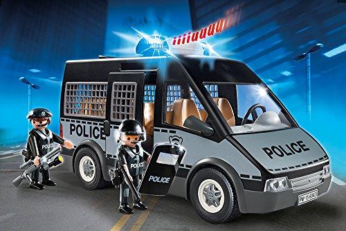 [Prime] Playmobil Polizei-Mannschaftswagen mit Licht und Sound (6043)