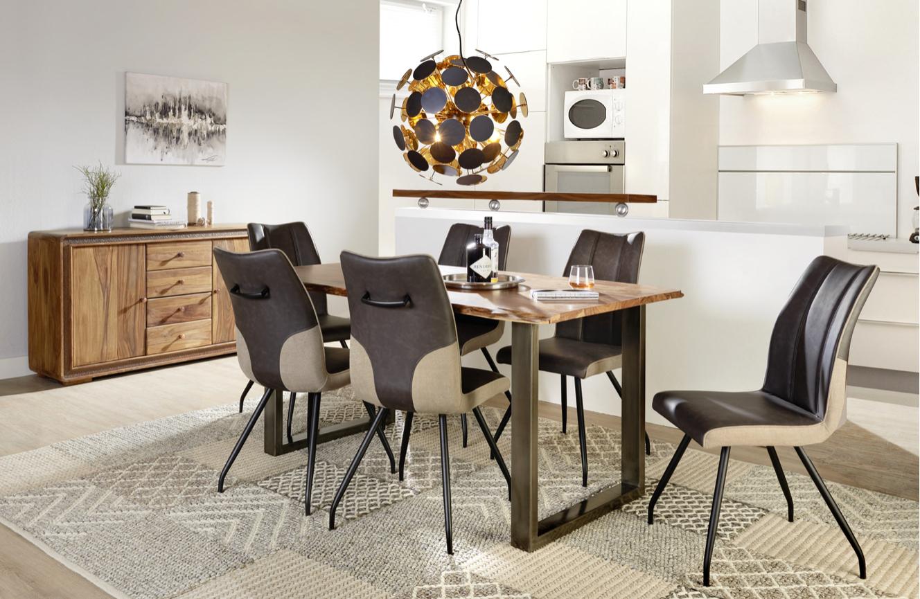 (online & offline @XXXLUTZ) Esstisch aus Akazienholz 160 x 90 x 78cm mit NL Gutschein für 189€ / mit Versand für 238,95€ / 228,95€ mit GS