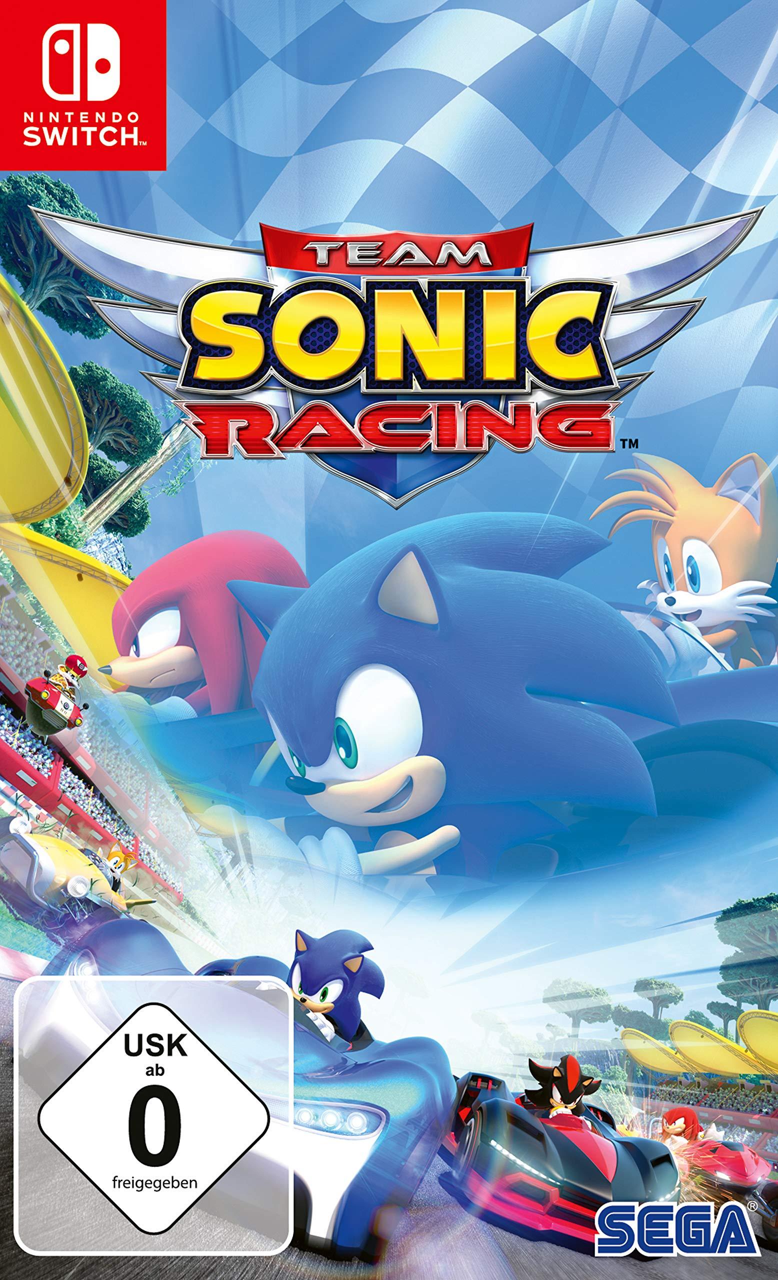 (Nintendo Switch) Team Sonic Racing (Amazon Prime)