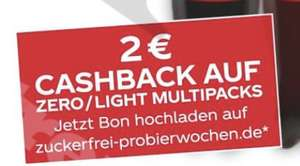 (Netto MD) 2€ Cashback auf Coca Cola Zero/Light Multipacks