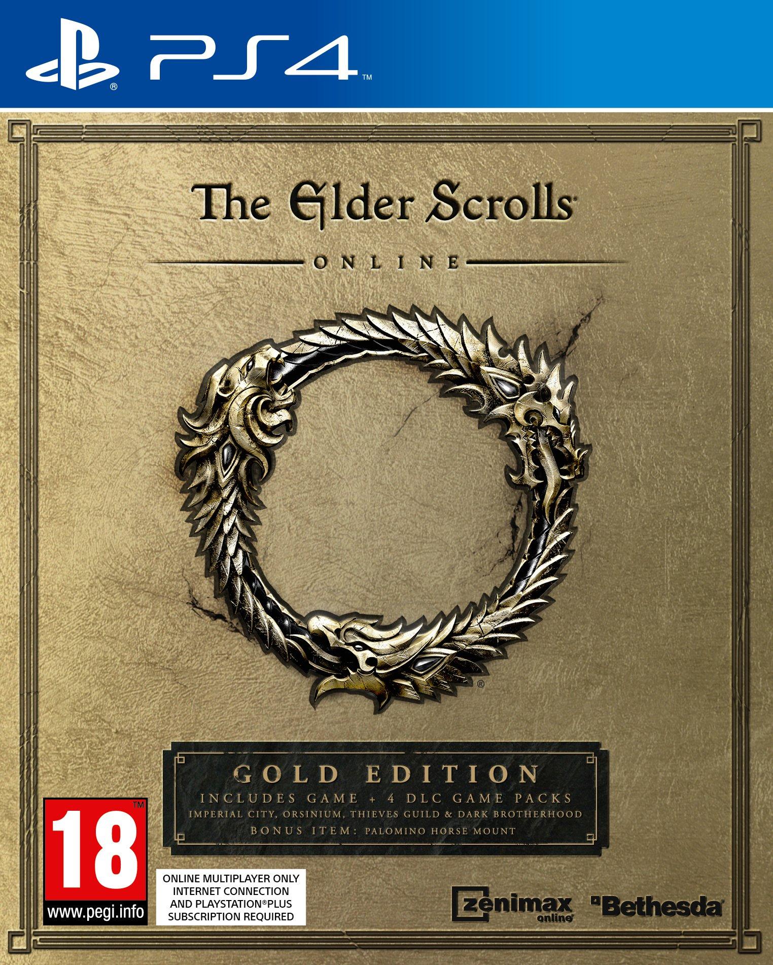 The Elder Scrolls Online, Gold Edition, PlayStation 4, !UK Version!