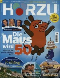 Hörzu Abo (52 Ausgaben) für 125 € mit 120 € BestChoice-Gutschein (Kein Werber nötig)