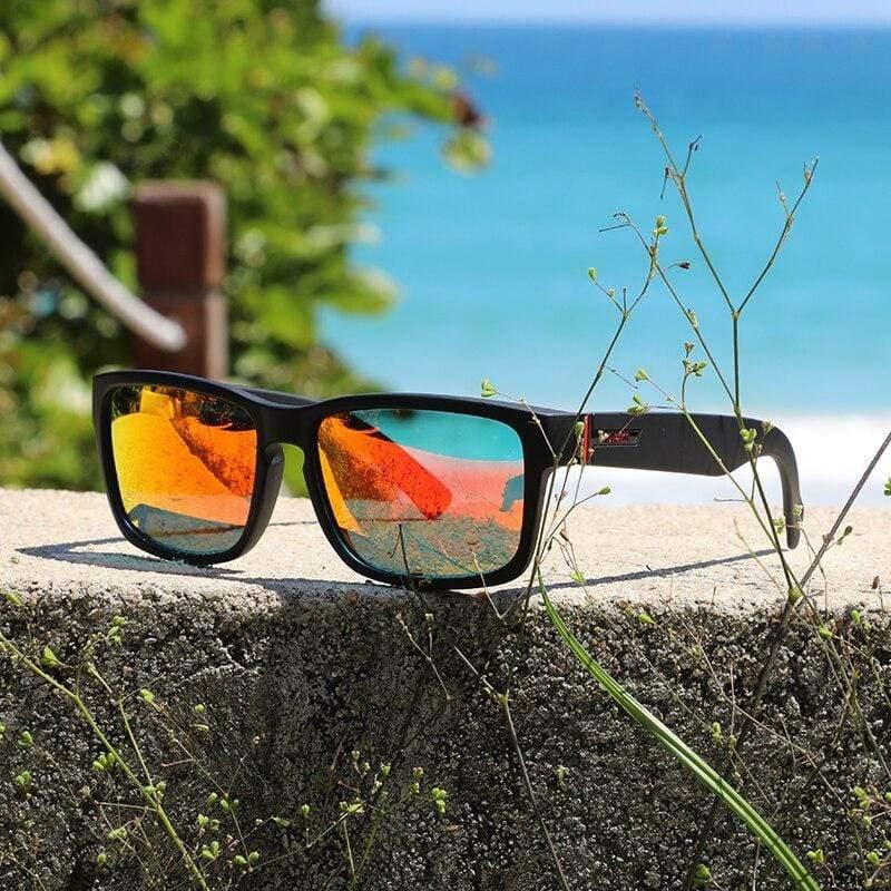 Nicht nur für Angler: Polarvision Wayfarer Poly Brille | Polarisierte Gläser mit UV400