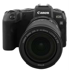 [Media Markt Club] Canon EOS RP Kit Systemkamera mit Objektiv 24-105 mm, 7,5 cm Display Touchscreen, WLAN