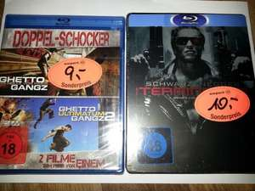 Terminator Steelbook für 10 € und andere Blu Rays für 5 €@mediapark Steinfurt(Lokal)