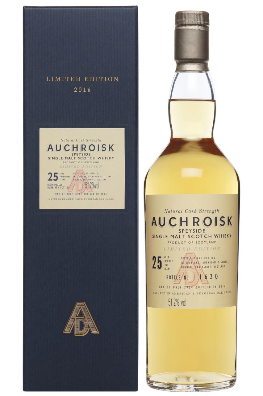 Auchroisk 25 Jahre Special Release 2016 51,2% vol. Single Malt Whisky