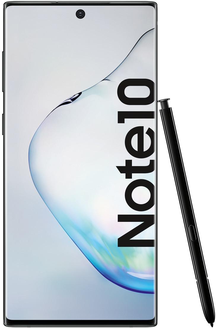 """Samsung Galaxy Note10 Aurora Black (6.3"""", 2280x1080, AMOLED, Stylus, Exynos 9825, 8/256GB, 3500mAh, Qi, NFC, ANT+, IP68, 168g)"""