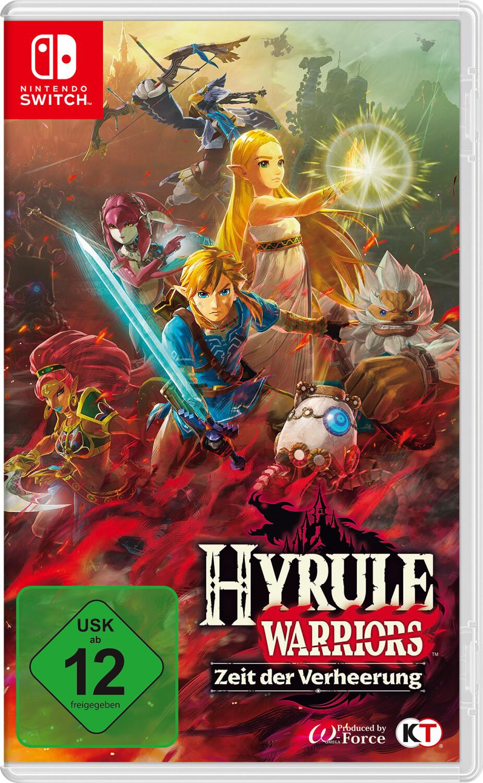 Hyrule Warriors: Zeit der Verheerung Nintendo Switch für 39,99€ inkl. Versandkosten (ggf. 34,99€ für eingeladene Nutzer)