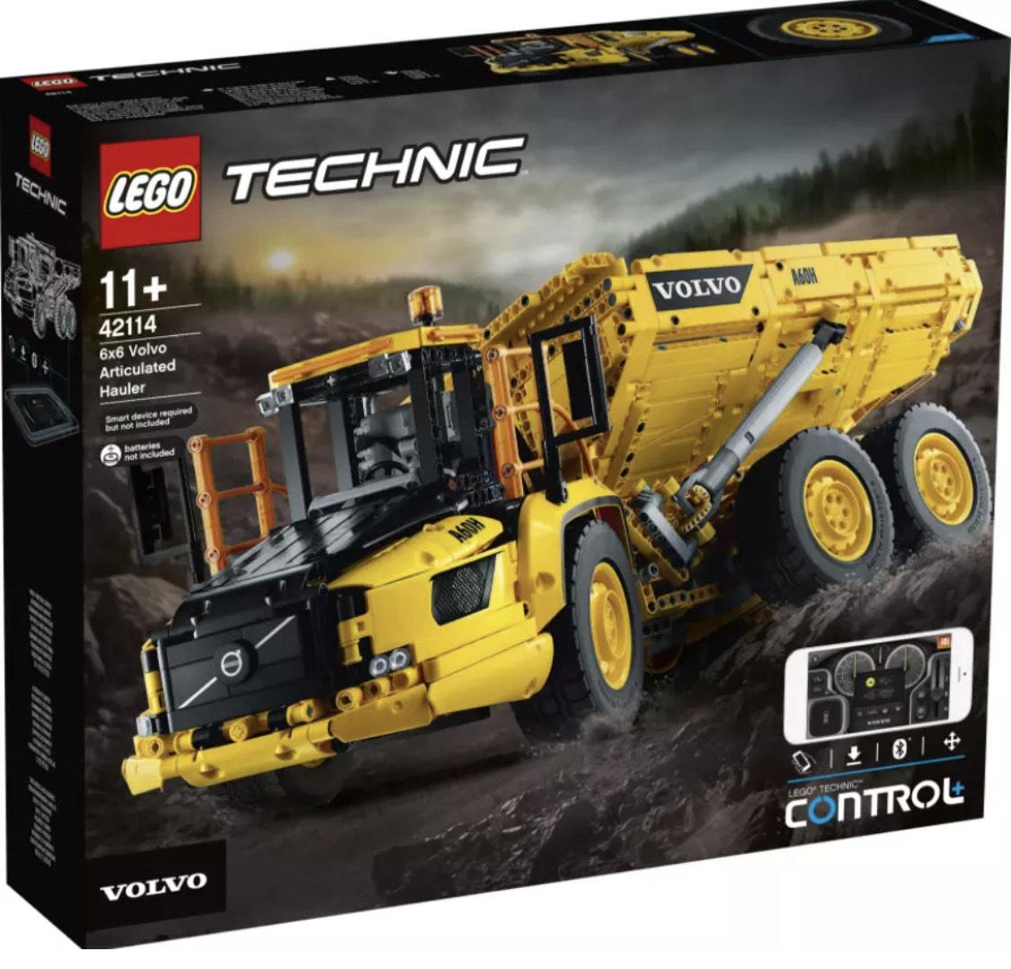 Lego Technic 42114 Volvo A60H Knickgelenk-Kipper (Gebrauchtware)