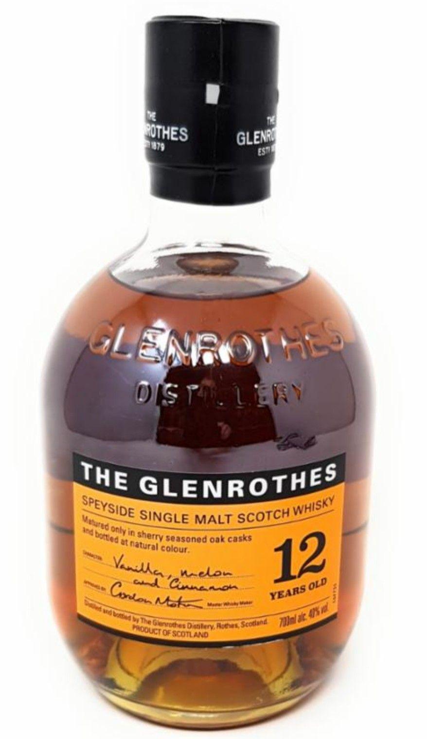Glenrothes 12 Single Malt Scotch Whisky 0,7l