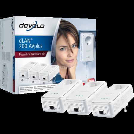 "Devolo PowerLAN dLAN 200 AVplus ""Network Kit"""